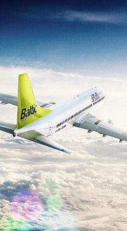 Billiga flyg med Air Baltic
