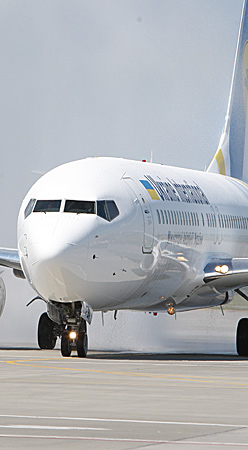 Billig fly med Ukraine Airlines